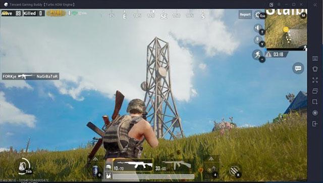 Cài đặt PUBG trên PC bằng Tencent Gaming Budd khá dễ dàng
