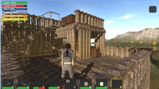 Game sinh tồn Thrive Island Free Survival