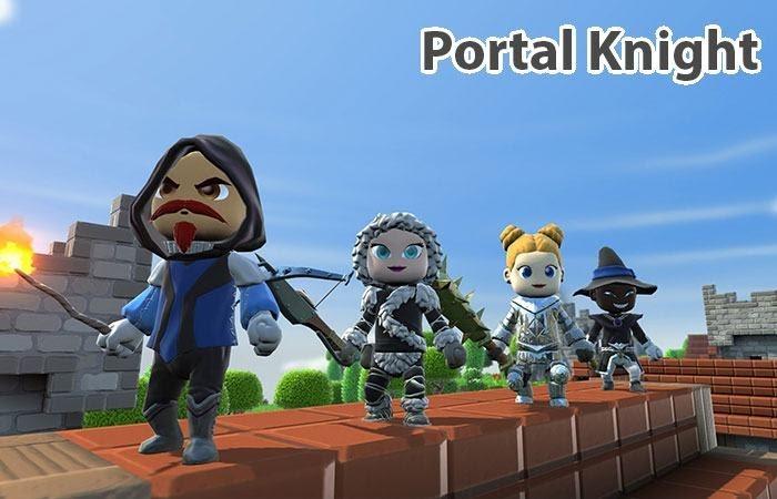 Portal Knight có đồ họa khá giống với MineCraft