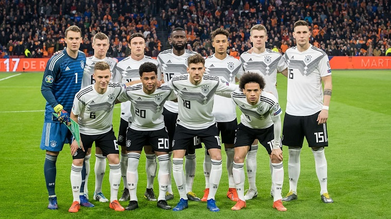 Đội tuyển Đức được dẫn dắt bởi HLV Joachim Loew đầy tài năng