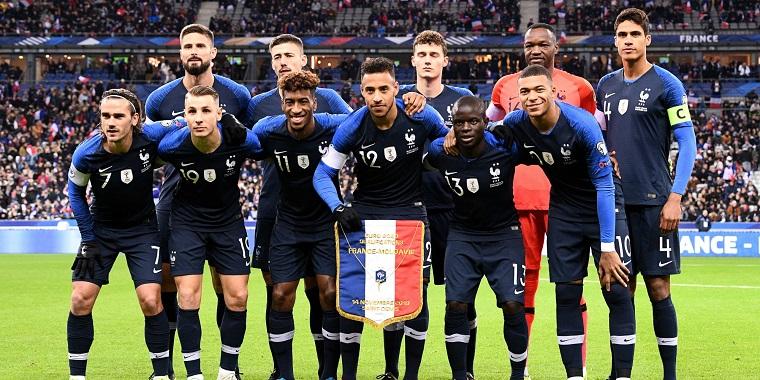 Đội tuyển Pháp được đánh giá có phong độ nhỉnh hơn 3 đội còn lại