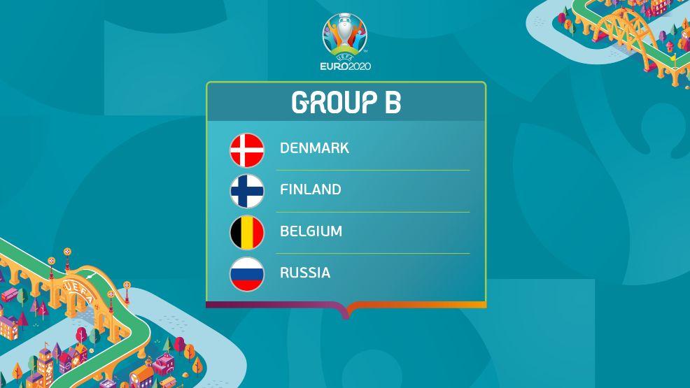 Điểm danh 4 đội tuyển sẽ góp mặt tại bảng B mùa giải Euro 2020/2021