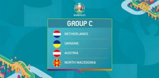 Danh sách 4 đội bóng tham gia tại bảng C Euro 2020/2021