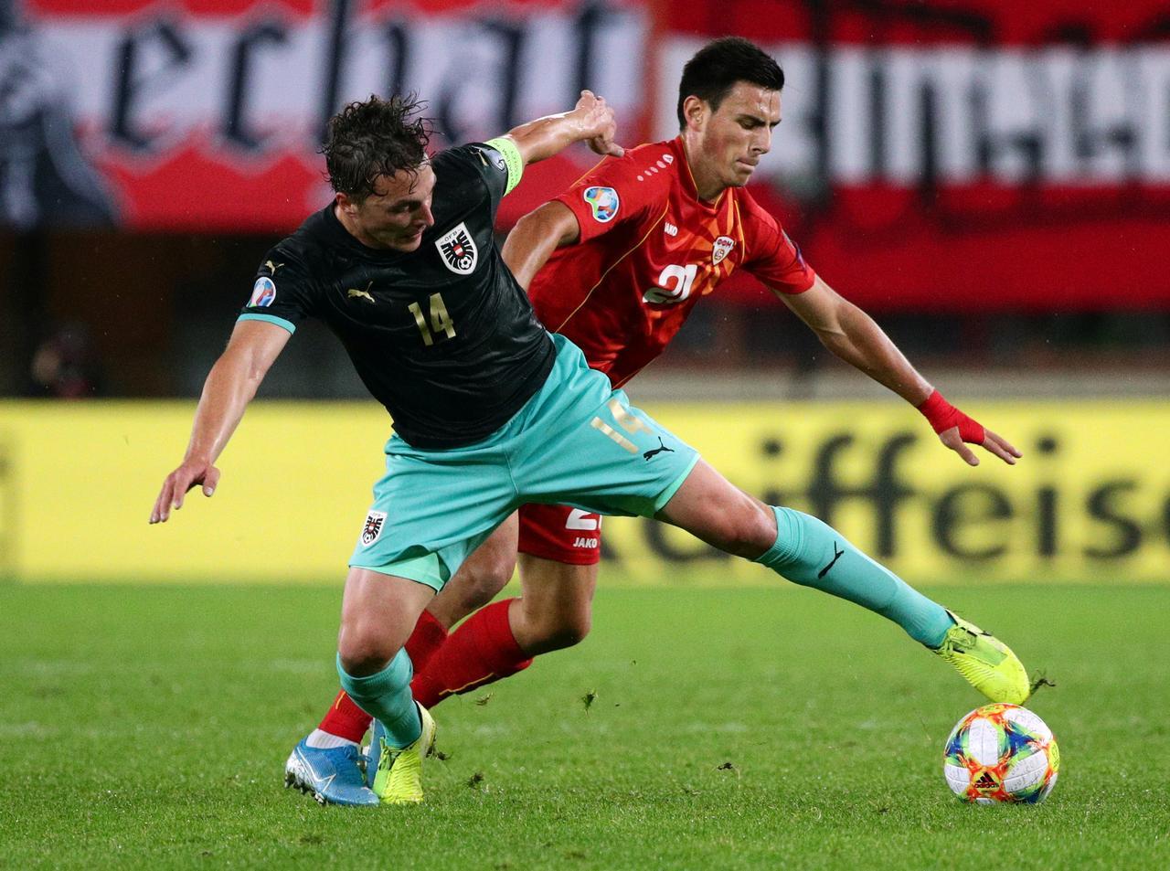 Soi kèo trận đấu Áo vs Bắc Macedonia