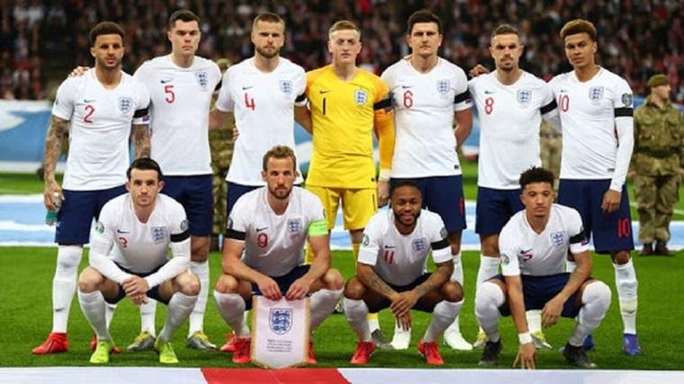 Đội tuyển Anh được định giá cao nhất trong mùa Euro 2020/2021