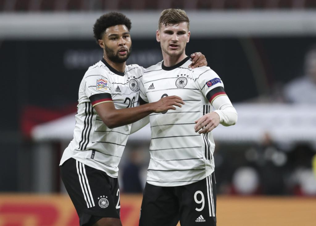 Các chiến binh trong hàng ngũ của đội bóng Đức khá nặng ký