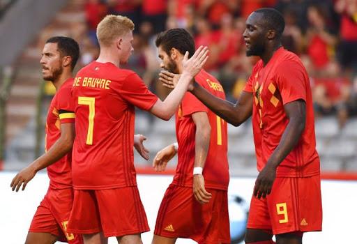 Khán giả cảm thấy vô cùng phấn khích khi nhìn thấy dàn cầu thủ xuất sắc của Bỉ