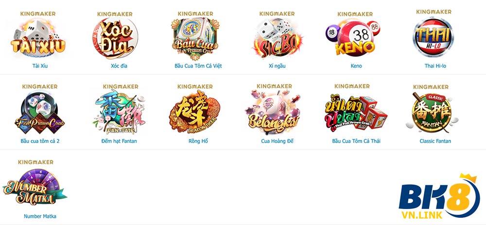 Casino trực tuyến đầy hấp dẫn của nhà cái BK8
