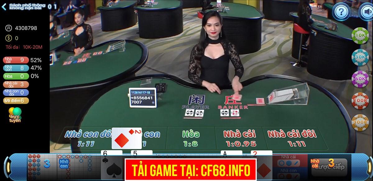 game bài đổi thưởng, game cf68