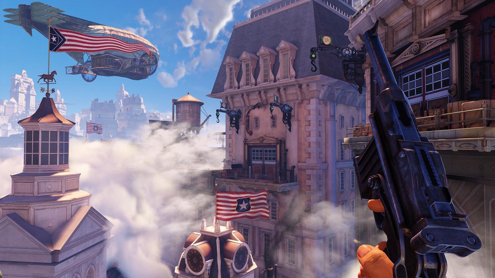 Bioshock Infinite là tựa game bắn súng online trên PC cực hay