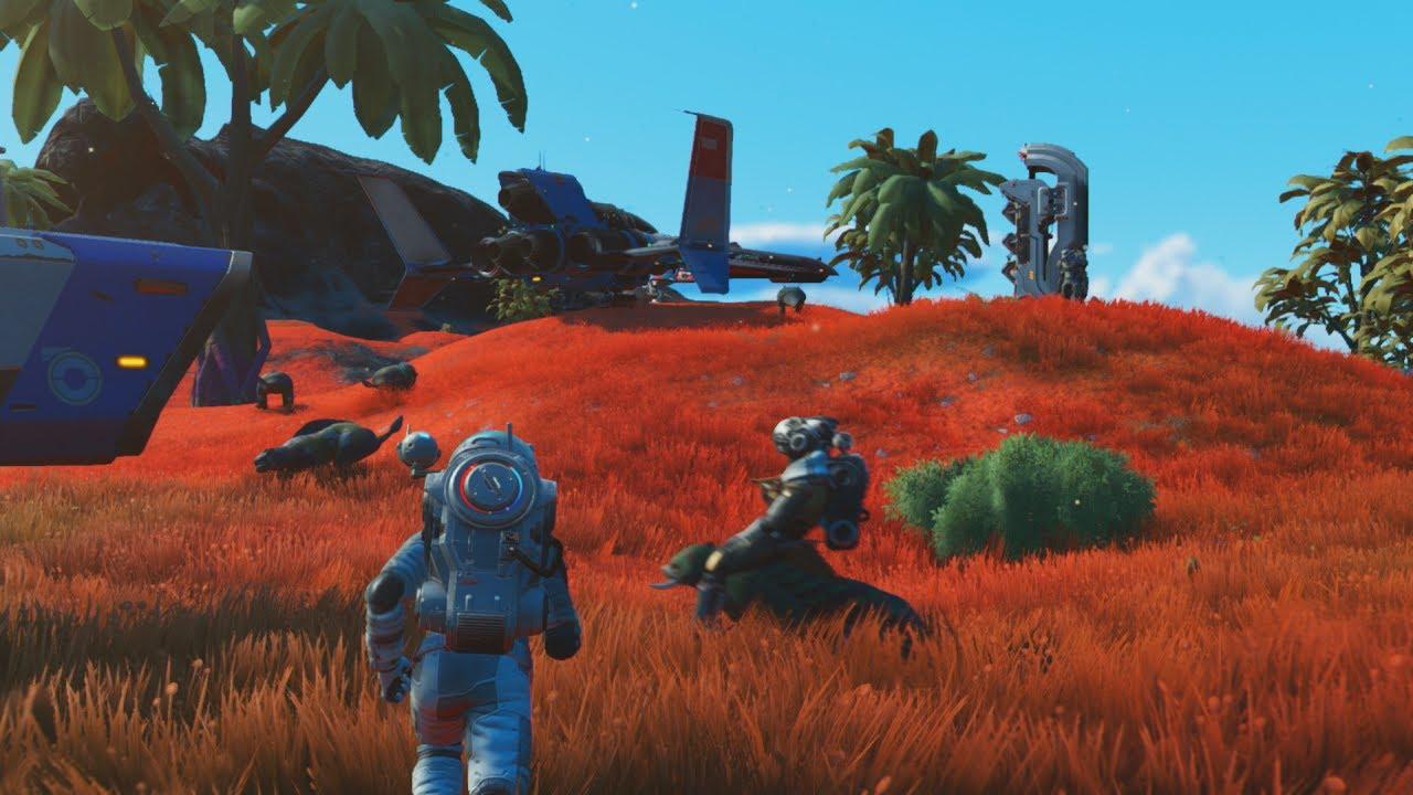 No Man's Sky là một game online cho PC hay