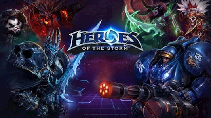 Heroes of the storm thu hút được nhiều người chơi